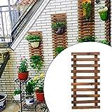 Jardinera de pared - Jardinera colgante para plantas de interior, soporte para plantas, colgador de suculentas para plantas de aire, jardín vertical. Decoración de pared grande para sala de estar, dec