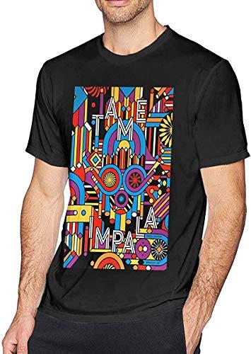 fghjfgdjhfd Camisetas para Hombres,Camisetas de Hombre,Tame Impala Men's Crew Neck Cotton T Shirt Short Sleeve tee T Shirts for Men Casual Personality Unique Design Men's Undershirts
