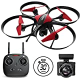 Force1 Drone for Beginners Altitude Hold 15-min Flight Time 720P Camera One Key Return Headless Mode U49C...