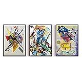 LTXMZ Wassily Kandinsky BerüHmte Kunstdruck Leinwandbilder