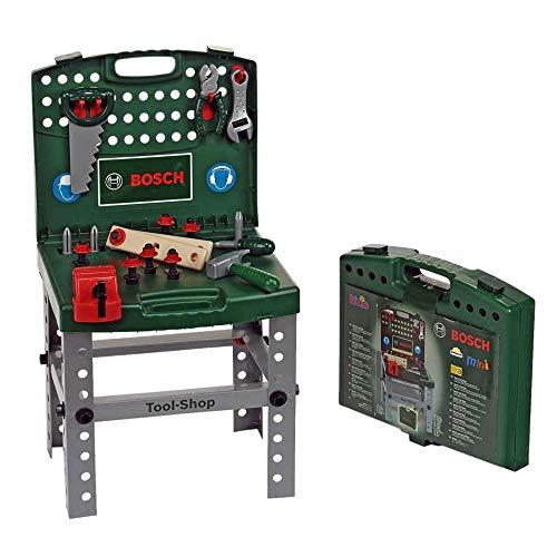 Theo Klein 8681 - Bosch werkbank inklapbaar, speelgoed