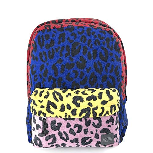 Wm Deana III Backpac Leopard Patchwo Vans Backpack