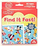 Mickey and Friends Find It Fast! Card Game (48 cards - All Ages)