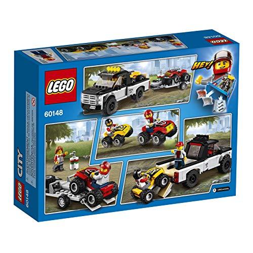 Super Équipe de Course Tout-Terrains Camion Pickup LEGO City - 60148 - 239 Pièces - 3