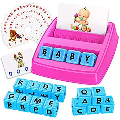 Tesoky Matching Letter Game for Kids  Learning