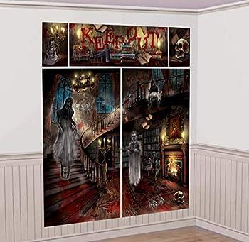 Haunted House Scene Setters | Halloween Decorating Kit