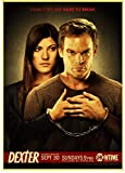 SHENGZI Canvas Poster Top Horror Tv Series Dexter Posters