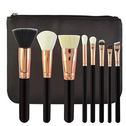 Kabuki Style Professional Make Up Brush Set Fondation Blusher Visage Poudre Visage Poudre Visage Blush Correcteur Ombres À Paupières Brosse à maquillage XXYHYQ (Color : 02, Size : Libre)