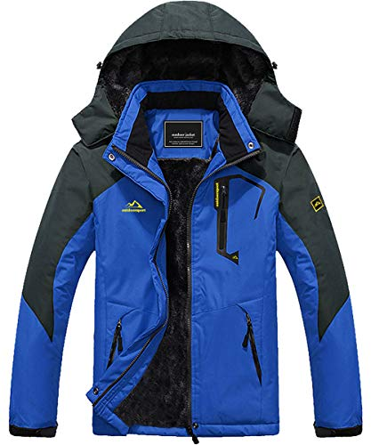 Ski Jacket Men Winter Coats for Men Snowboarding Jacket Skiing Jacket Waterproof Jacket US M=CN 2XL