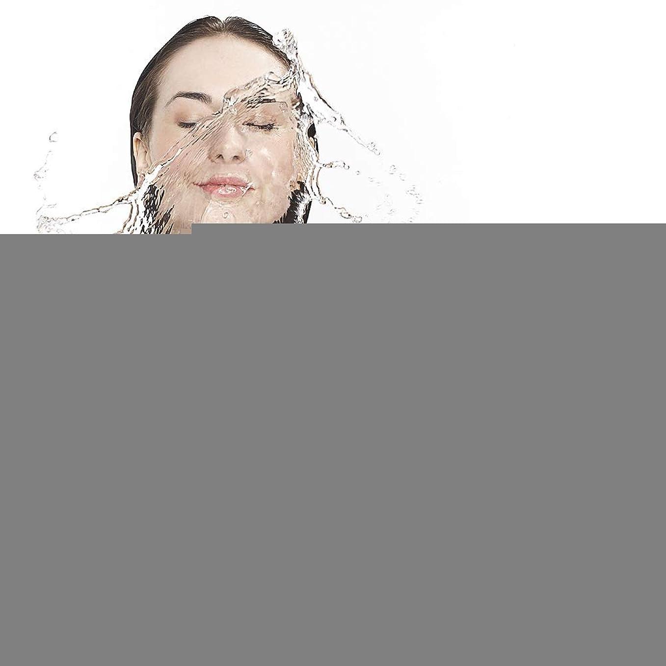 複雑な取り組むフットボールフェイシャルクリーニングブラシ、複数の立体マッサージと6モードのスキンケアツールが付いている洗顔マッサージとスクラブマッサージをきれいにする電気携帯用防水振動の気孔(ピンク)