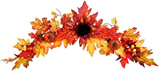Best halloween swag wreath Reviews
