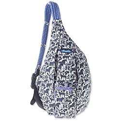 professional Rope bag KAVU – Hiking, camping and commuting slings – Charcoal fables