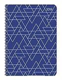 "Agenda settimanale Ladytimer spiralata 2019 ""Triangles"" 15x21 cm"