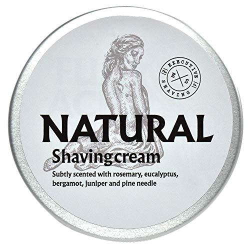 Executive Shaving Alcool e senza Parabeni Naturale Crema da Barba 200ml Vasca Perfetto per Pelli Sensibili