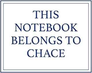 This Notebook Belongs to Chace