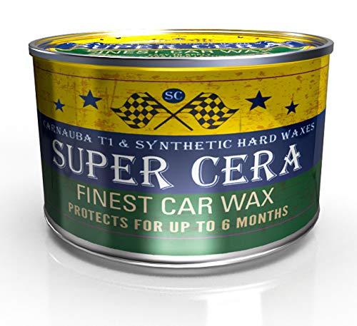 Dirtbusters Super Cera Schutz-, Abdichtungs- und Glanzbehandlung für Autos - bestes brasilianisches Carnaubawachs T1 - für die Pflege, die Ihr Auto verdient - 150 g Dose