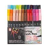 Sakura Koi Coloring Brush Pens 24er-Set, 24 Pinselstifte im Etui -