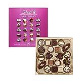 リンツ (Lindt) チョコレート ミニプラリネ 100g ピンク ショッピングバッグS付