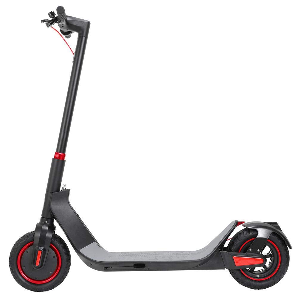 Kugoo G-Max Folding Electric Scooter for Adult 30KM/H Max Speed 500W Powerful Brushless Motor 10.4AH Battery (Black)