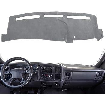 Plush Velour, Gray DashMat VelourMat Dashboard Cover Chevrolet and GMC
