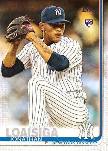 2019 Topps Baseball #243 Jonathan Loaisiga Rookie Card