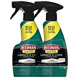 Weiman Disinfectant Granite Daily Clean & Shine - 12 fl oz (2 Pack)...