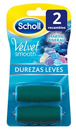 Scholl Velvet Smooth Recambios para Lima Pies Durezas Regulares - 2 Unidades