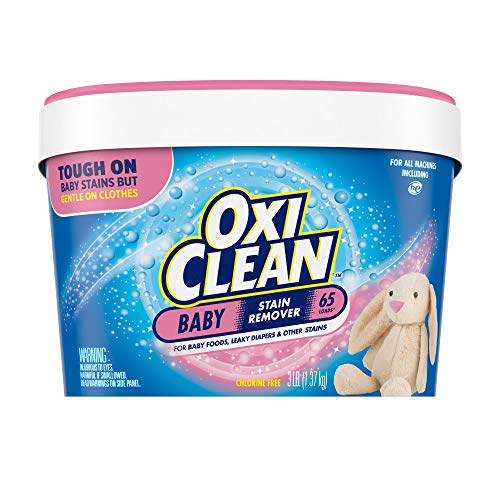 OxiClean Versatile Stain Remover Baby Stain Soaker, 3 lb