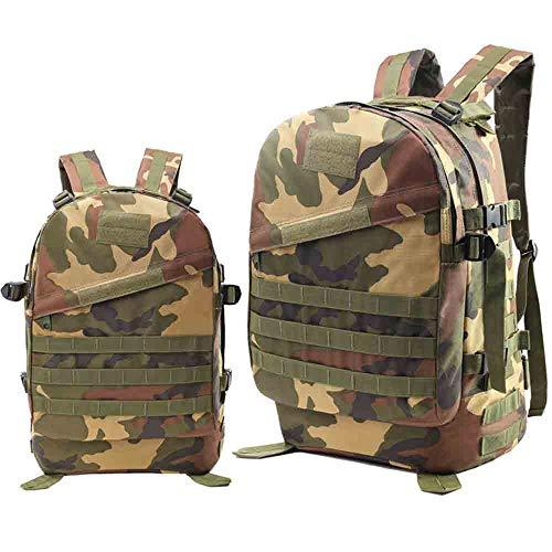 45L防水3D戦術的な軍事攻撃のバックパックバッグトレック狩猟キャンプハイキング登山バッグアウトドアリュックサック,Junglecamouflagecolor