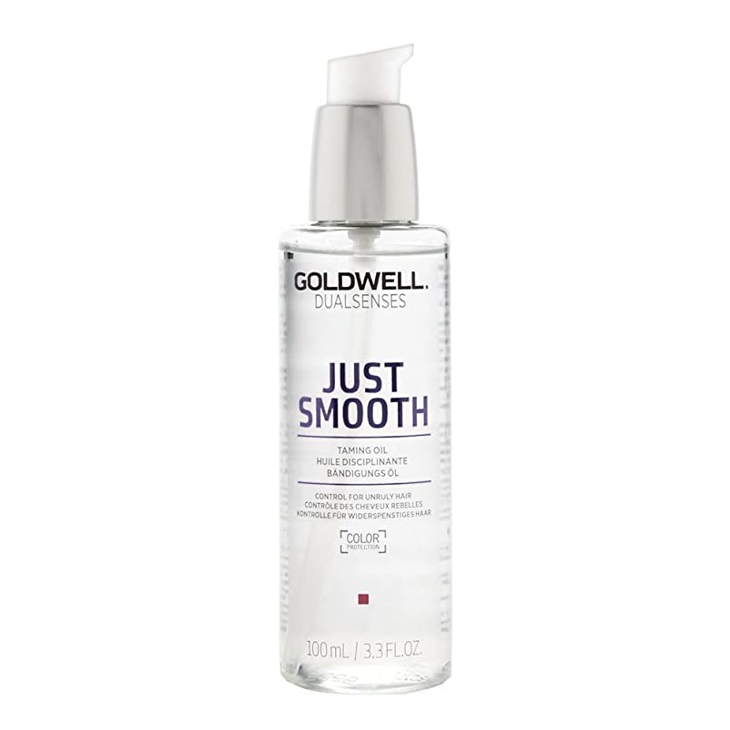 大量前投薬条件付きゴールドウェル Dual Senses Just Smooth Taming Oil (Control For Unruly Hair) 100ml/3.3oz並行輸入品