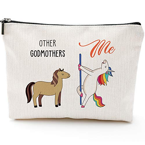 Godmothers Gifts for Women,Godmothers Fun Gifts, Godmothers Bags for Women,Godmothers Makeup Bag, Make Up Pouch,Godmothers Birthday Gifts