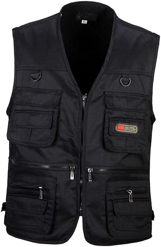 menolana Men's Multi- Super popular specialty store Quick-Dry free Fishing Vest Waistco Photography
