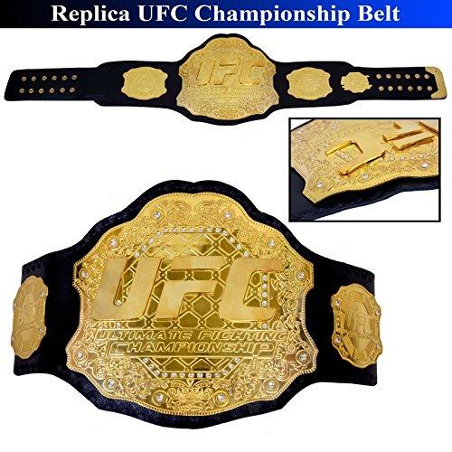 UFC Championship Gürtel echt Leder Ultimate Fighting Replica Größe 129,5