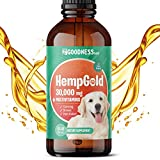 Fur Goodness Sake Hemp Oil for Dog Anxiety Relief - Dog Multivitamin for Pain Relief and Joint Care - Dog Stress and Anxiety Relief - Multivitamin Hemp Oil for Dogs - Dog Joint Supplement