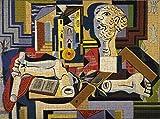 TLMYDD Puzzles de rompecabezas grande para adultos-Pablo Picasso-Studio con yeso Pintura de aceite de petróleo Pascuas de rompecabezas Ilustraciones de la pared Dormitorio de la decoración de la decor