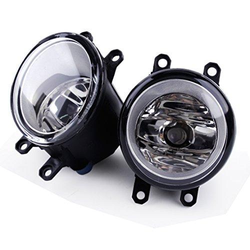 CITALL Antibrouillard Gauche Droite Lampe de Conduite avec H11 Ampoules