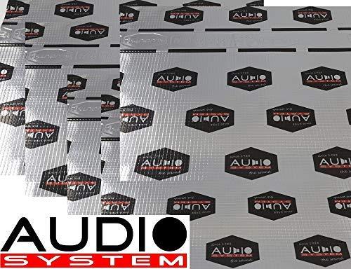 AUDIO SYSTEM ALUBUTYL 1500 ALUBUTYL Dämmaterial mit starker Aluschicht - 5 Stück