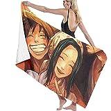 Luffy Luffy Soft Absorbente Ligero para baño Piscina Yoga Pilates Manta de Picnic Toallas de Microfibra 80cm * 130cm