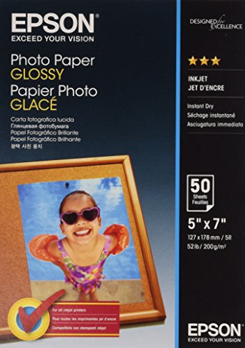 Epson Photo papier 127X178 cm 50 feuilles 200 g/m² Brillant