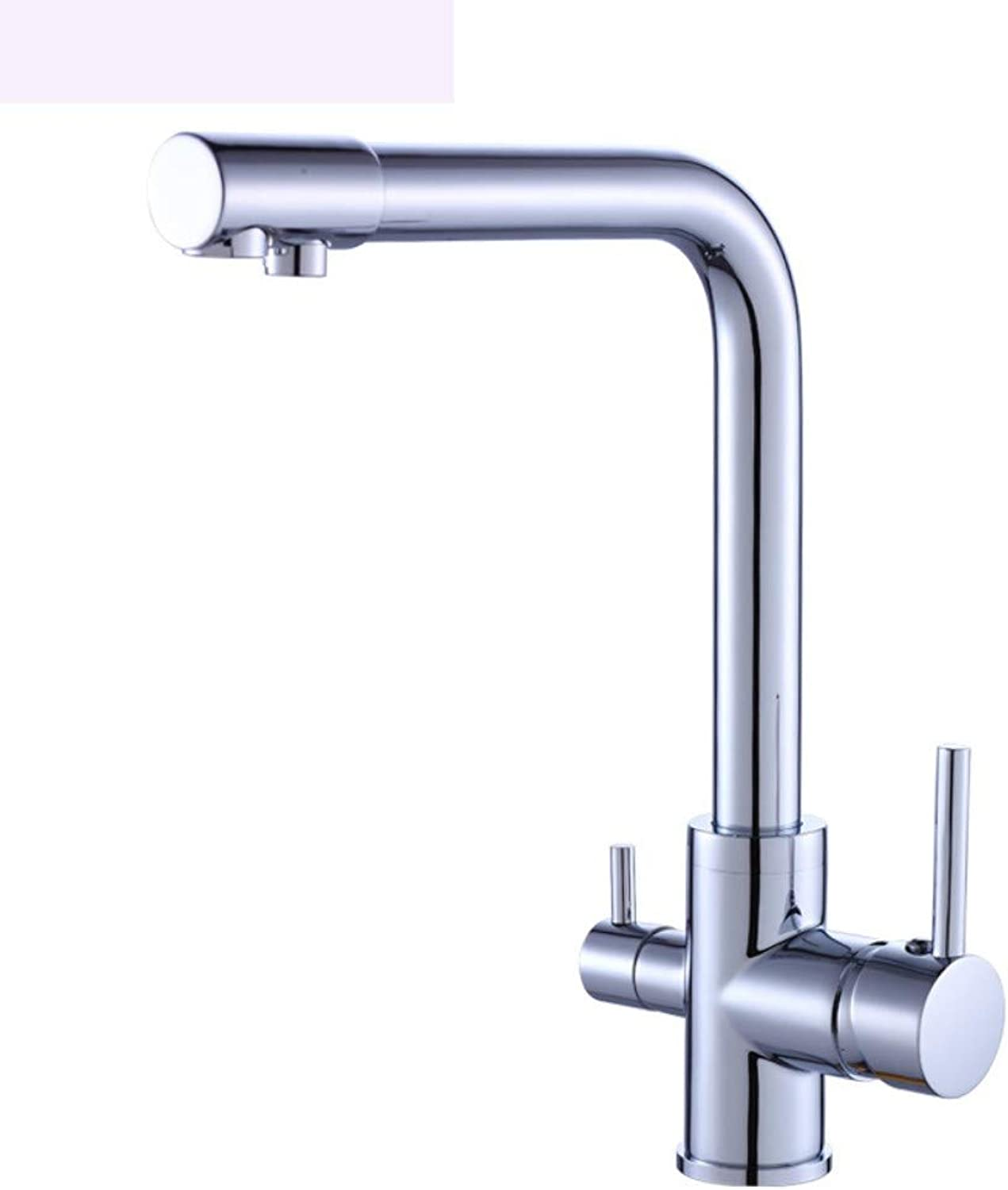Faucet Copper Water Purification Kitchen hot and Cold Water Single Handle Kitchen Faucet