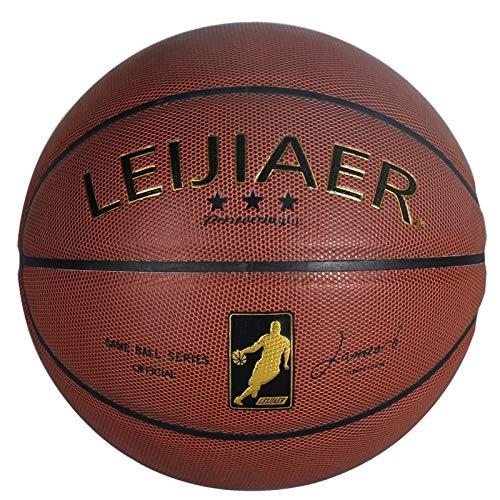 Indoor/Outdoor Training Basketball BKT 760X 5 in 1 in Pelle No.7 Matrix Texture igroscopico PU Pallacanestro Set for partitelle Regali appassionato di Basket