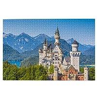 森の小屋 自然の風景 ジグソーパズル1000枚 木のパズル 趣味パズル 減圧パズル 親子パズル 装飾画 壁画