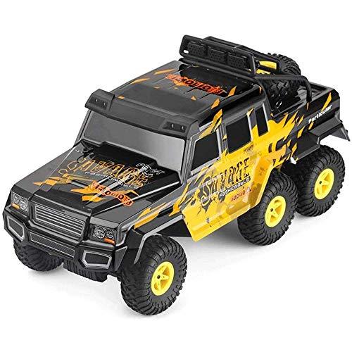 WGFGXQ Coche RC de Alta Velocidad 1/18 Plástico 6WD 2.4G Castillo de Control Remoto Todo Terreno Monster Truck Bigfoot Vehículo Todoterreno Modelo de Juguete Coche Regalo de cumpleaños para niños N