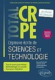 L'épreuve écrite de sciences et technologie