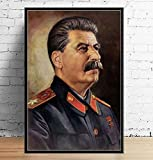 DAQIANSHIJIE Great Leader Stalin Portrait Poster Abstrakte