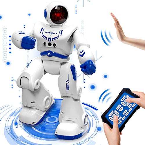 HOMOFY Remote Control Robot Toys for Kids RC Intelligent Programmable Robot Smart Robot Kit with...