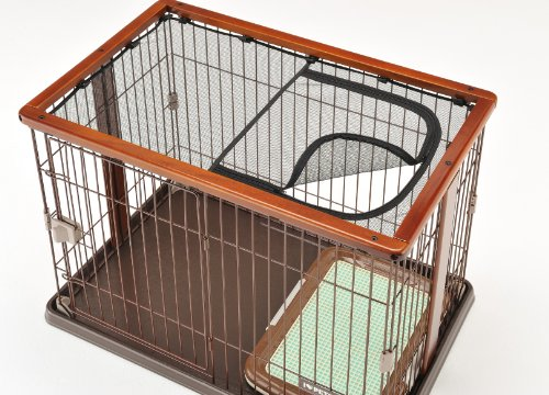ボンビアルコン(Bonbi)ウッドワンサークルブラウン犬用