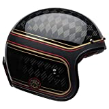 Bell Custom 500 Carbon Open-Face Motorcycle Helmet (Ace Cafe Tonup...