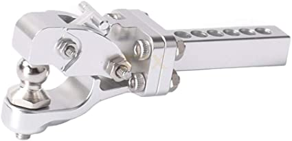 Metal Hook Drop Hitchs Receiver For SCX10 90046 Traxxas TRX4 1//10 RC Crawler BS4