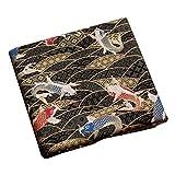 Black Temptation Style Japonais Tissus Faits à la Main Cadeaux -DIY Sac/Kimono/Couvertures Oreiller-A3